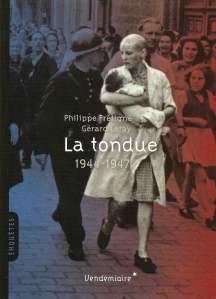 la tondue 1944-1947
