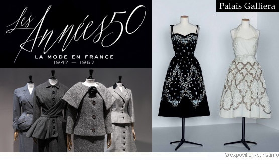 Les années 50  La mode en France 1947,1957
