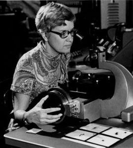 L'astronome Vera Rubin, au début des années 1970. | HO / CARNEGIE INSTITUTION OF WASHINGTON / AFP